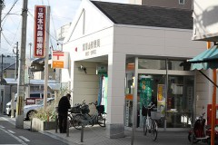 瓢箪山郵便局の隣が当院です